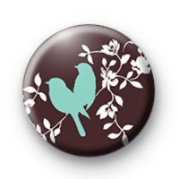 Blue Love Birds badge