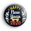 Bow Tie Happy New Year Badge