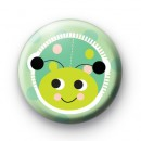 Extra Sweet Green Ladybug Pin Badge