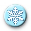 True Blue Snowflake button badges