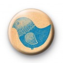 Blue Tweet Bird Badges