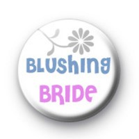 Blushing Bride Badges