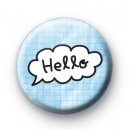 Blue Sky Hello Cloud Badges