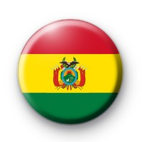 Bolivian Flag Badge