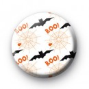 Spooky Halloween Pattern Badges