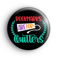 Bookmarks Are For Quitters Badge thumbnail