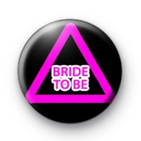 Pink Hen Party Sign Button Badges