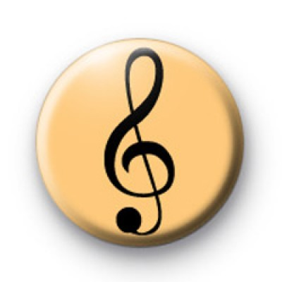 Bronze Treble Clef Badge