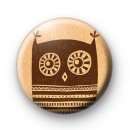 Brown Owl Button Badges
