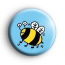 Bumble Bee Insect Badge