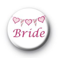 Bunting Bride Badge