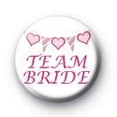 Bunting Team Bride Badge