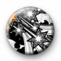 Stars galore button badges