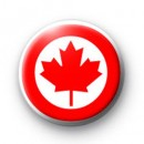 Canada Maple Leaf Badge