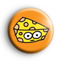 Cheesy Cheese Button Badge Button Badges