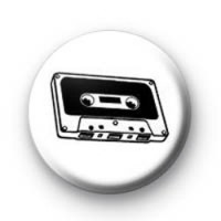 C60 Cassette tape Badges