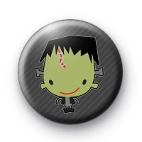 Halloween Frankenstein Pin Badge thumbnail