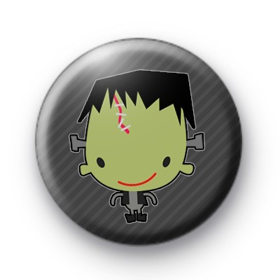 Halloween Frankenstein Pin Badge