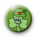 Cheeky Shamrock Button Badges