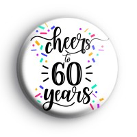 Cheers To 60 Years Badge thumbnail
