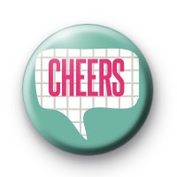 Cheers Speech Bubble Badge thumbnail