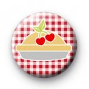 Cherry Pie Button Badges