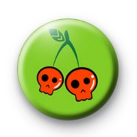 Cherry Skulls Badge
