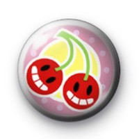 Cherry Smile Badges