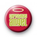 Christmas Angel Badge