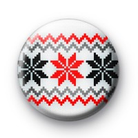 Christmas Jumper Button Badges
