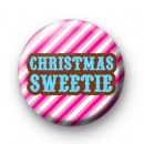 Christmas Sweetie Pink Badges