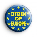 Citizen Of Europe Badge