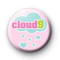 Cloud 9 Button Badge