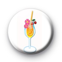 Cocktail Drink Glass badges