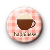 Coffee is Happiness Badge