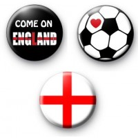 Set 3 England World Cup Badges