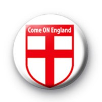 Come ON England Crest Badge