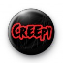 Creepy Button Badges