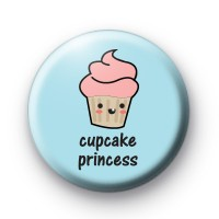 Cupcake Princess 2 Button Badges