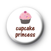Cute Cupcake Princess Badge
