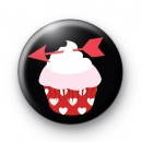 Cupids Arrow Cupcake Badge