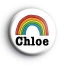 Rainbow Custom Name Badge