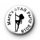 Stag Party Stripper Badges