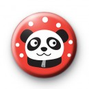 Very Sweet Panda Button Badge