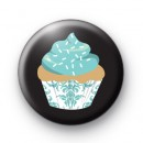 True Blue Cupcake Button Badges