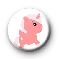 Sweet Magical Unicorn Button Badge