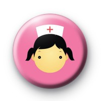 Cute Nurse Button Badges