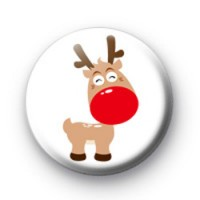 Rudolph the Red Nosed Reindeer badge