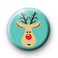 The Cutest Reindeer Ever Badge