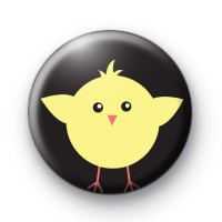 Cute Yellow Easter Chick Button Badges